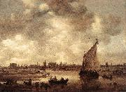 Jan van Goyen View of Leiden oil painting picture wholesale